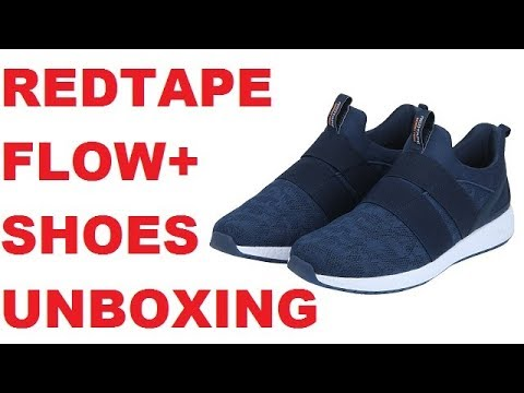 Redtape flow+ shoes Unboxing and Review