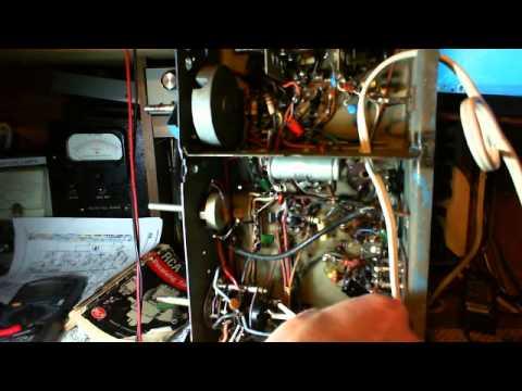 Antique Tube Radio Canadian PYE 39 Video #8 - Two Big Bad Resistors