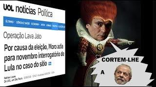 Moro produz PROVA de que persegue Lula