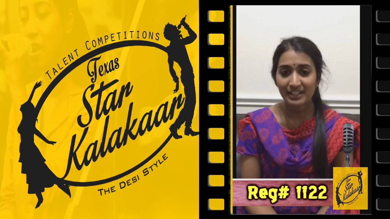 Texas Star Kalakaar 2016 - Registration No #1122