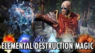 Skyrim Mod: Elemental Destruction Magic