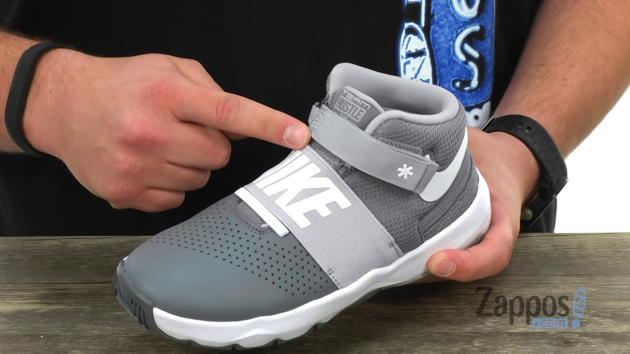 7f2e92e3323376 Nike Kids Team Hustle D8 Flyease (Big Kid) SKU  8985406 - YouTube