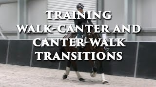 WALK-CANTER TRANSITIONS - Dressage Mastery TV Episode 132