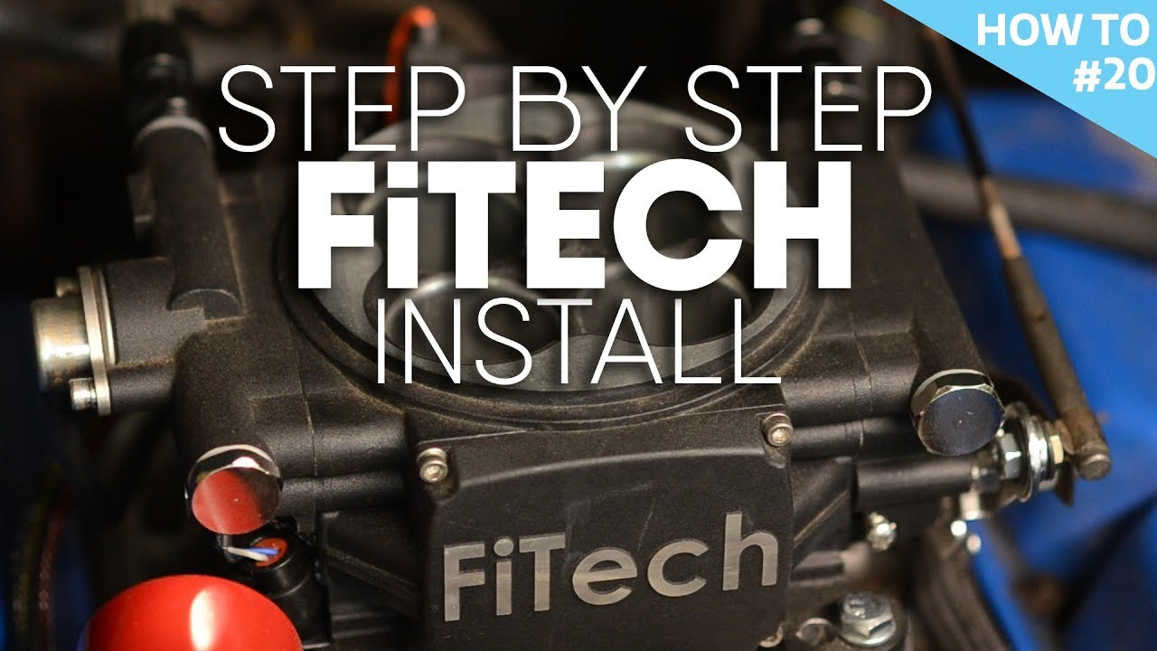 how to install fitech efi on ford 302 - h2#20