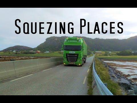 Squezing Places - Part 1 -  Norway Trucking