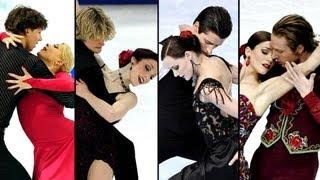 Before Sochi 2014. Ice Dance: Virtue-Moir, Davis-White, Bobrova-Soloviev, Pechalat-Bourzat.