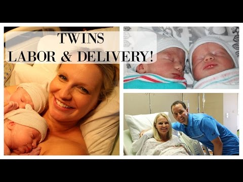 LABOR & DELIVERY VLOG   TWINS!