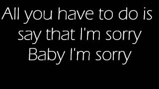 Sorry-Ciara(Lyrics)