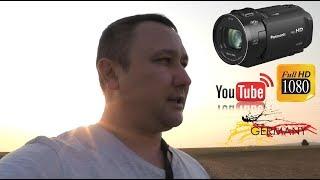 Panasonic HC-V808  (HC-V808EG-K) видео тест.