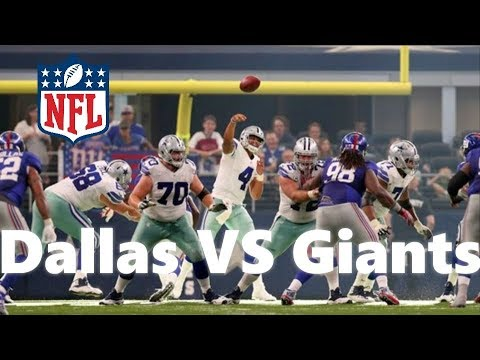 Dallas Cowboys VS New York Giants Post Game