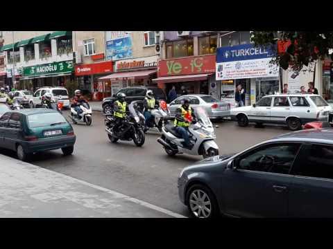 Gebze 29 Ekim Cumhuriyet Bayramı Motor Gösterisi