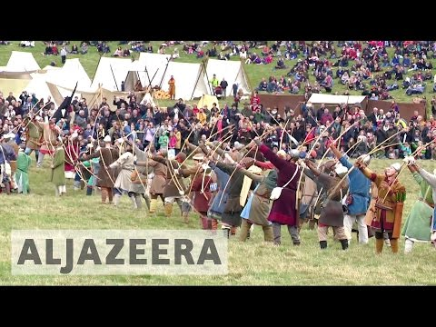 Britain marks 950th anniversary of Battle of Hastings