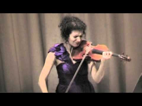 """In the Footsteps of BACH"" Solo Violin Tour"