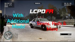 How To Install LCPDFR 1.1 For Gta IV (With custom vehicle models, sirens, peds, gun sounds and more)
