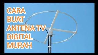 MEMBUAT ANTENA TV BAGUS DAN MURAH