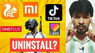 Uninstall Chinese Apps? | Tamil | Madan Gowri