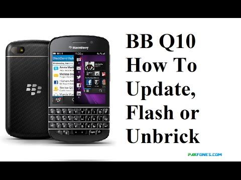 How to unbrick blackberry q10