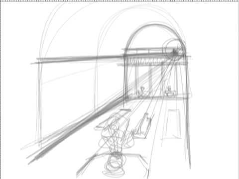 Two Point Perspective in addition Mad Hatters Tea Party further Drawing Lessons moreover TDJ4M Design Drawing in addition Drawing Steps For One Point Perspective. on one point perspective drawing
