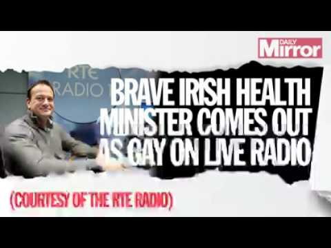 Irish Health Minister Leo Varadkar Comes out as Gay on Live radio