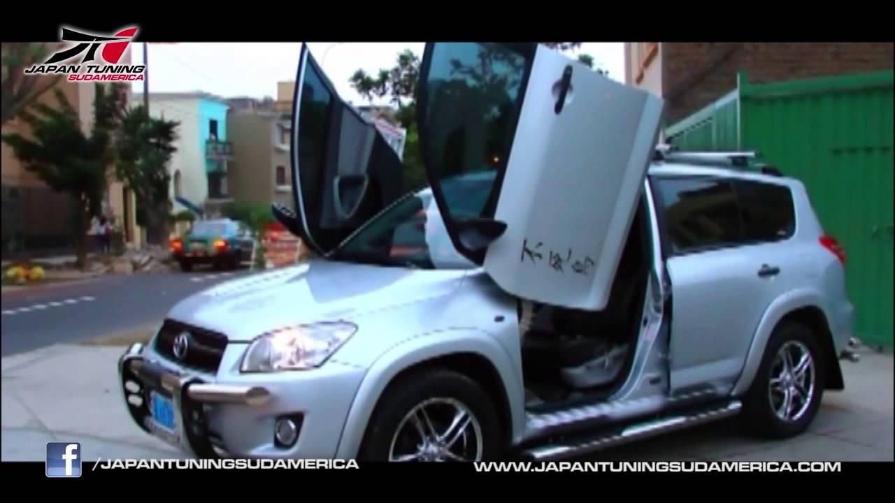 Toyota Rav 4 2011 Lima Peru Lambo Doors Www