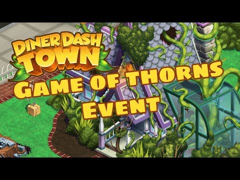 DINER DASH ADVENTURES  Gameplay Walkthrough Part 11 - Game Of Thorns Event