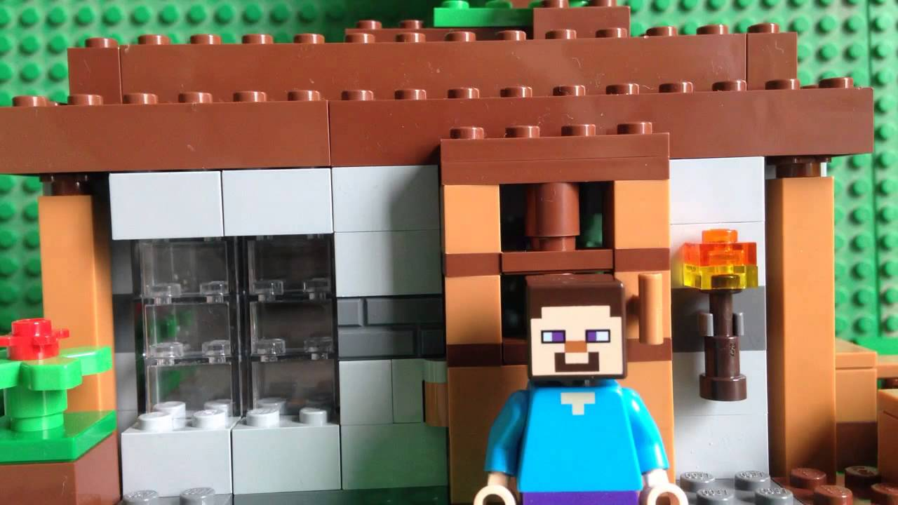 Lego Minecraft Steves House