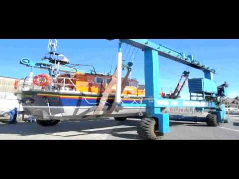 Skegness Lifeboat Relaunch (after refit) 30/8/2010