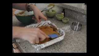 How To Make Pumpkin Brownies - From Baking Bites