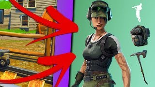 HOW TO GET A FREE SKIN! -Fortnite Battle Royale (English)