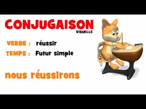 Conjugaison Reussir Futur Simple Avi Youtube