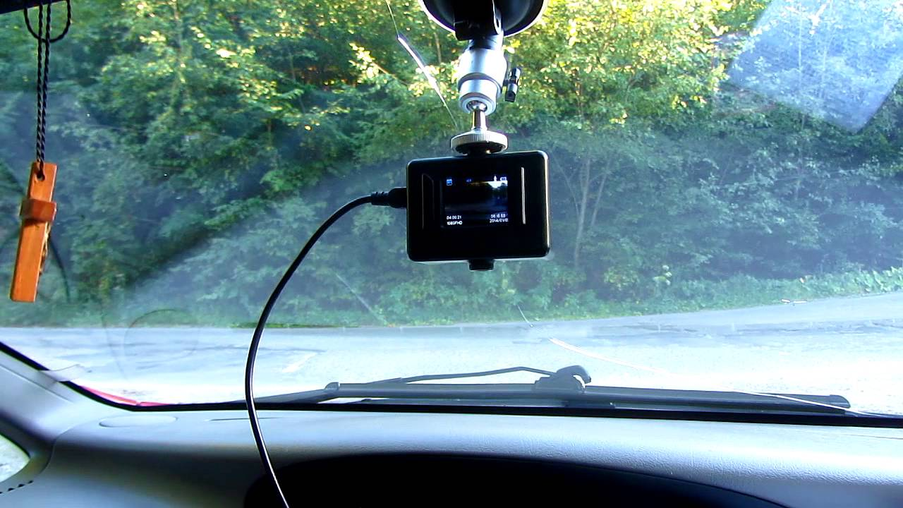 How To Set Up Sj4000 Camera For In-Car Video Recording -4537