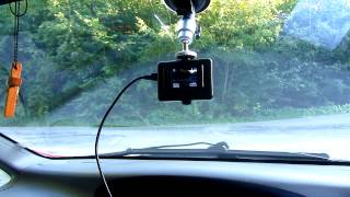How to set up SJ4000 camera for in-car Video Recording (Car Mode, Suction Cup)