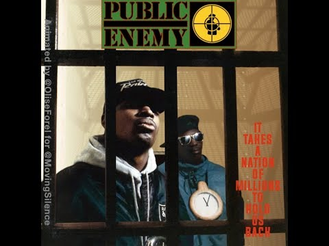 Hip Hop Cover Animation: Public Enemy - It Takes a Nation of Millions to Hold Us Back
