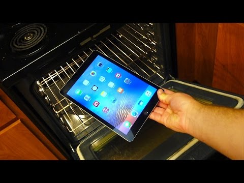 Don't Bake iPad Air 2 in a Home Oven! Warning: Dangerous - GizmoSlip