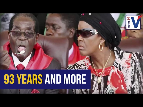 93 years and more: Here's a look at Zimbabwean President Mugabe's most funny and memorable moments