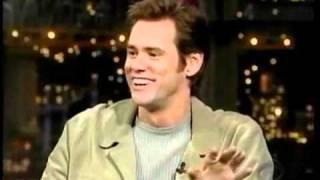 Jim Carrey  Джим Керри на шоу Леттермана  Русская озвучка(Мое желание проявить себя творчески вылилось в этот