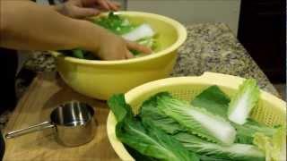 Korean Instant Kimchi Made With Baby Napa Cabbage (풋배추 겉절이) Vegan & Gluten Free Recipe