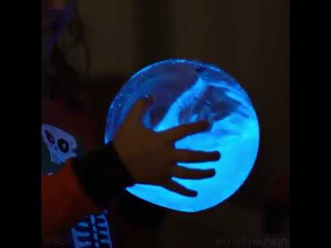 Bioluminescent plankton aquarium glows when shaken youtube - Bioluminescent aquarium ...