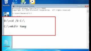 Работа с командной строкой Windows урок 1.avi