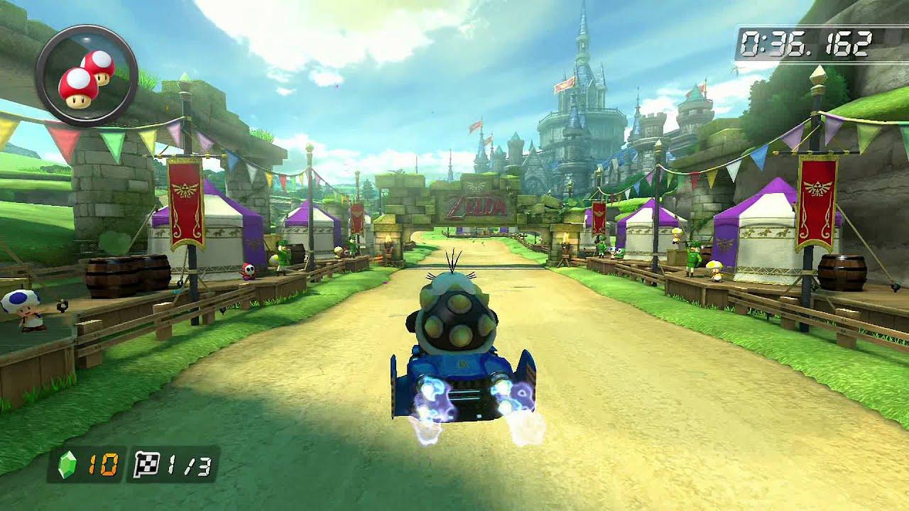 Hyrule Circuit 150722 HD Mario Kart 8 World Record