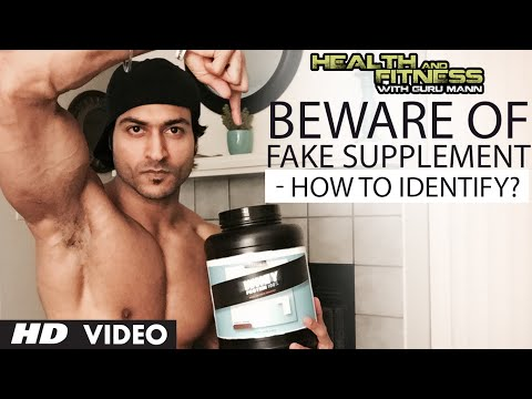 Beware Of Fake Supplement - How To Identify? | Health and Fitness Tips | Guru Mann
