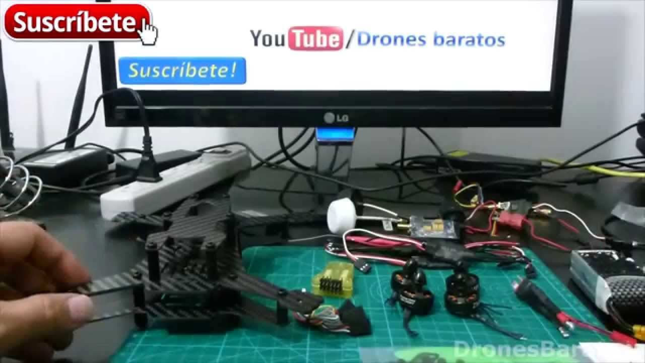 Construye Tu Propio Mini Drone Parte 1 Lista de materiales - YouTube