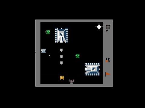 Танчики денди(nes)  (Tank 1990) C 1 по 254 уровень полное прохождение на русском языке