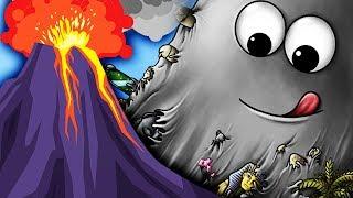 Tasty Planet СЛИЗЕНЬ БОБ СЪЕЛ ВУЛКАН Мультик Игра для детей СЪЕДОБНАЯ ПЛАНЕТА