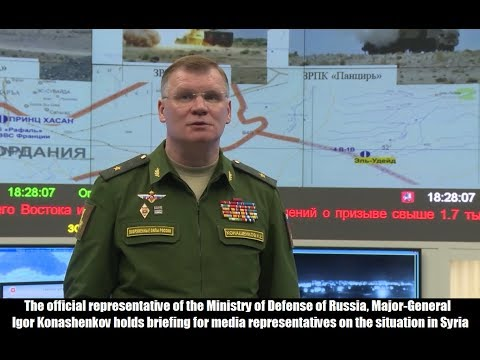 Ministry of Defense of the Russian Federation. Statement on Syria. April 16, 2018