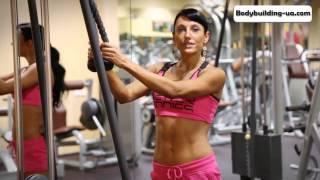 Тренировка на рельеф и форму мышц  Зина Руденко