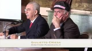 """Giulietto Chiesa: """"Una comunità consapevole è la migliore difesa del nostro territorio libero"""""""