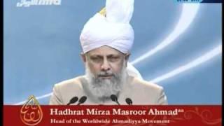 (Urdu) Jalsa Salana Canada 2008 - Concluding Address by Hadhrat Mirza Masroor Ahmad
