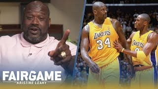 Shaq vs. Kobe: Did the Lakers Have a Secret Code to Shut Down Bryant and Limit Touches? | FAIR GAME Video