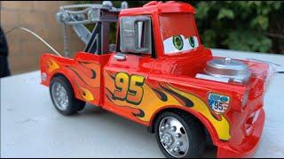 Disney Cars Toys Lightning McQueen Mater Ride on, Mack Truck